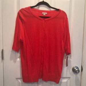NWT Merona Orange sweater size XXL